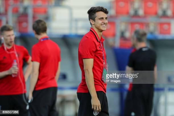 MarcOliver Kempf of Germany looks on during the UEFA U21 Final match between Germany and Spain at Krakow Stadium on June 30 2017 in Krakow Poland