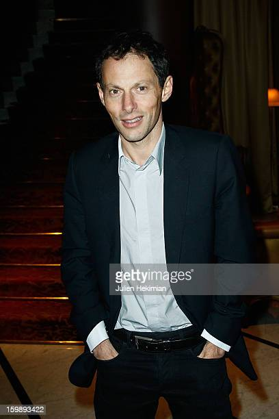 MarcOlivier Fogiel attends 'La Petite Maison De Nicole' Inauguration Photocall at Hotel Fouquet's Barriere on January 22 2013 in Paris France