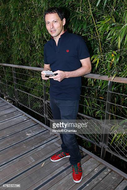 MarcOlivier Fogiel attends the Men Final of 2015 Roland Garros French Tennis Open Day Fithteen on June 7 2015 in Paris France