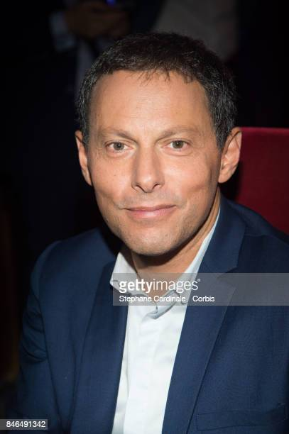 MarcOlivier Fogiel attends the RTLRTL2Fun Radio Press Conference to Announce Their TV Schedule for 2017/2018 at Cinema Elysee Biarritz on September...