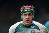Marcos Ayerza of Leicester Tigers looks on during the Aviva Premiership match between Leicester Tigers and Saracens at Welford Road stadium on March...