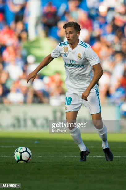 Marcos Llorente during the match between Getafe CF vs Real Madrid week 8 of La Liga 2017/18 in Coliseum Alfonso Perez Getafe Madrid 14th of october...