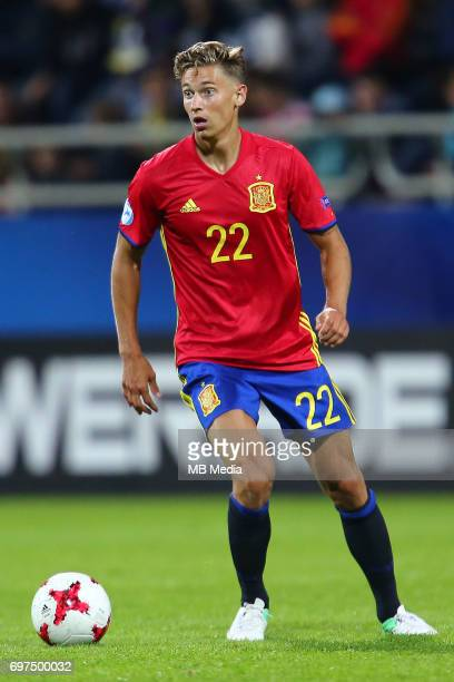Marcos Llorente during the UEFA European Under21 match between Spain and FYR Macedonia on June 17 2017 in Gdynia Poland