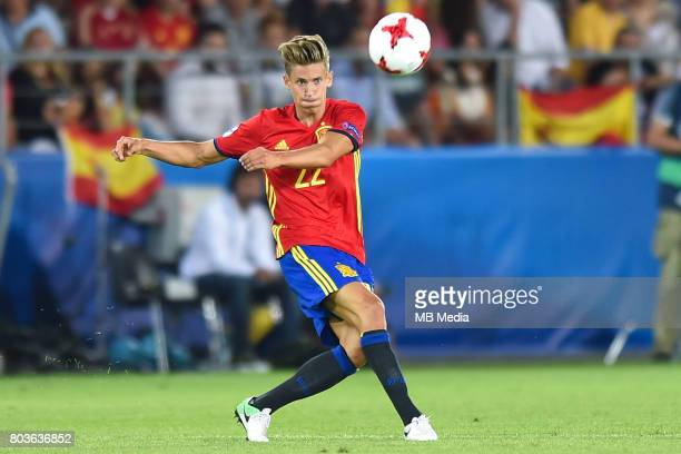 Marcos Llorente during the UEFA European Under21 match between Spain and Italy on June 27 2017 in Krakow Poland