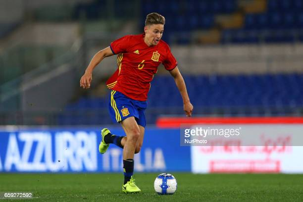 Marcos Llorente of Spain at Olimpico Stadium in Rome Italy on March 27 2017
