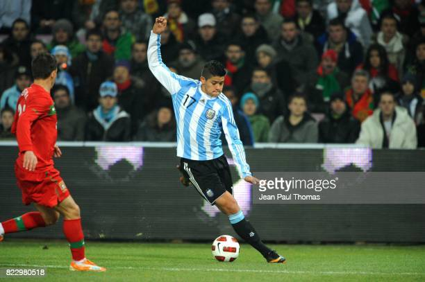 Marcos ROJO Argentine / Portugal Match amical Geneve