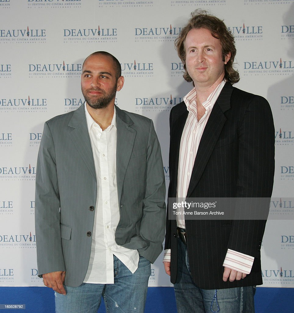 Marcos Siega and Carl Levin during 31st American Film Festival of Deauville - Pretty Persuasion Photocall at CID in Deauville, France.