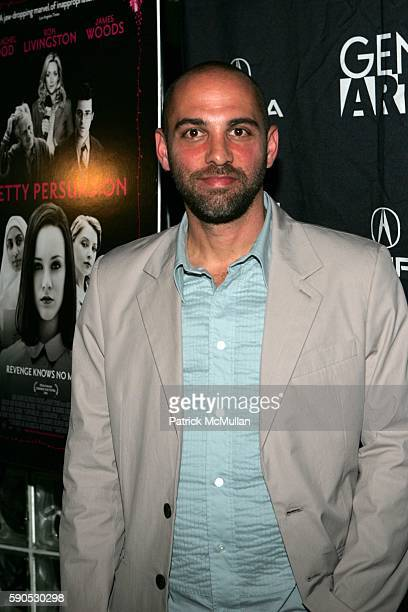 Marcos Siega attends Arrivals at the New York Premiere of 'Pretty Persuasion' Hosted by Gen Art and Acura at Clearview Chelsea West on August 2 2005...