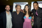 Marcos Siega director Cheech Marin Roselyn Sanchez and Nick Cannon