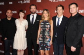 Marcos Siega Valorie Curry James Purefoy Natalie Zea Kevin Bacon and Kevin Williamson attend a screening and QA of 'The Following' at Leonard H...