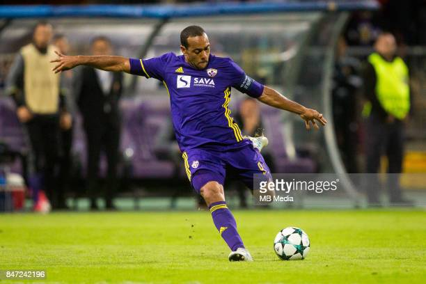 Marcos Tavares of NK Maribor during UEFA Champions League group E match between NK Maribor and Spartak Moscow at Ljudski Vrt on September 13 2017 in...