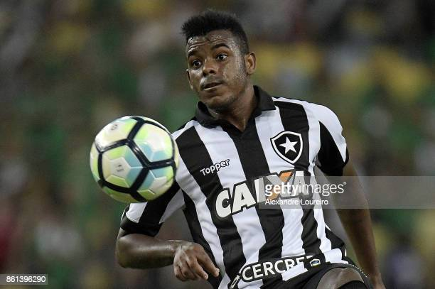 Marcos Vinicius of Botafogo in action during the match between Vasco da Gama and Botafogo as part of Brasileirao Series A 2017 at Maracana Stadium...