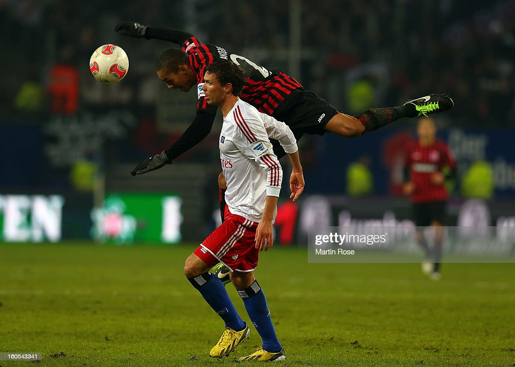 <a gi-track='captionPersonalityLinkClicked' href=/galleries/search?phrase=Marcus+Berg&family=editorial&specificpeople=5705301 ng-click='$event.stopPropagation()'>Marcus Berg</a> (L) of Hamburg and Anderson(R) of Frankfurt battle for the ball during the Bundesliga match between Hamburger SV and Eintracht Frankfurt at Imtech Arena on February 2, 2013 in Hamburg, Germany.