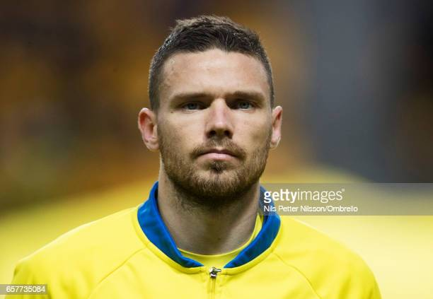 Marcus Berg of Sweden during the FIFA 2018 World Cup Qualifier between Sweden and Belarus at Friends arena on March 25 2017 in Solna