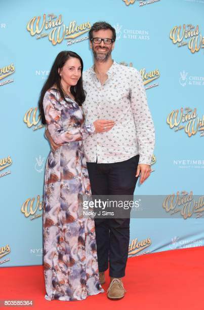 Marcus Brigstocke and wife attend the Gala performance of Wind In The Willows at London Palladium on June 29 2017 in London England
