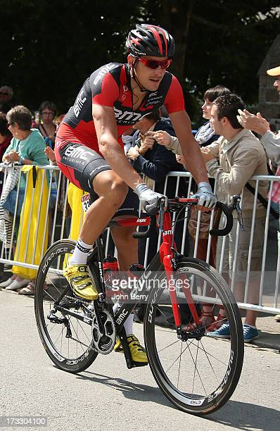 Marcus Burghardt of Germany and BMC Racing Team in action during Stage Twelve of the Tour de France 2013 the 100th Tour de France a 218 km road stage...