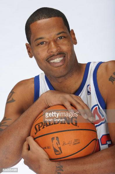 Marcus Camby of the Los Angeles Clippers poses for a portrait during NBA Media Day on September 29 2008 at the Clippers Training Facility in Playa...