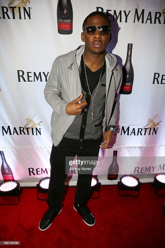 Marcus Canty attends the Remy Martin V.S.O.P Ringleader Culmination Event with Robin Thicke at Marquee on March 4, 2013 in New York City.