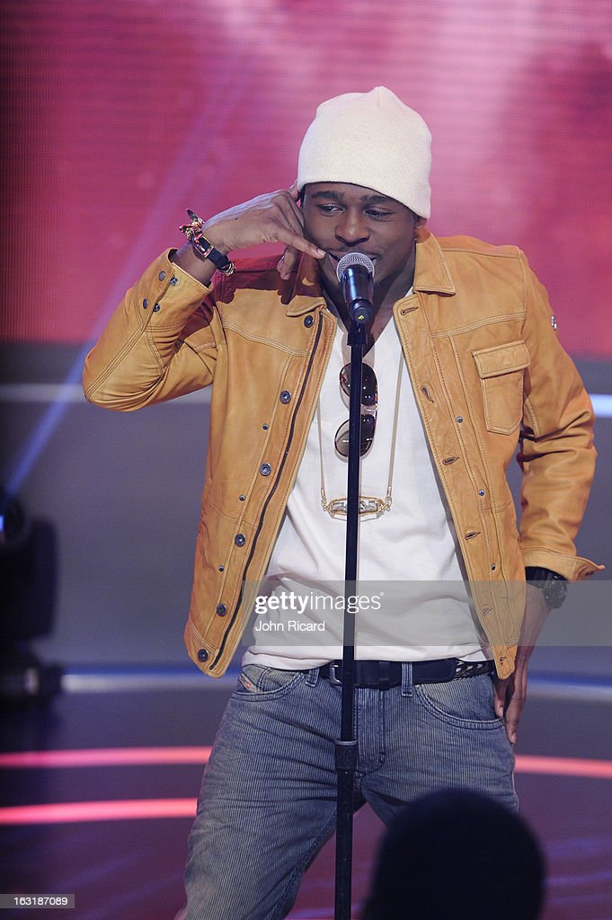 Marcus Canty visits BET's '106 & Park' at BET Studios on March 4, 2013 in New York City.