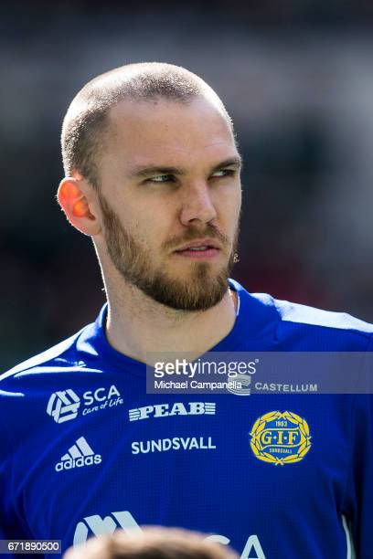 Marcus Danielsson of GIF Sundsvall during the Allsvenskan match between Hammarby IF and GIF Sundsvall at Tele2 Arena on April 23 2017 in Stockholm...