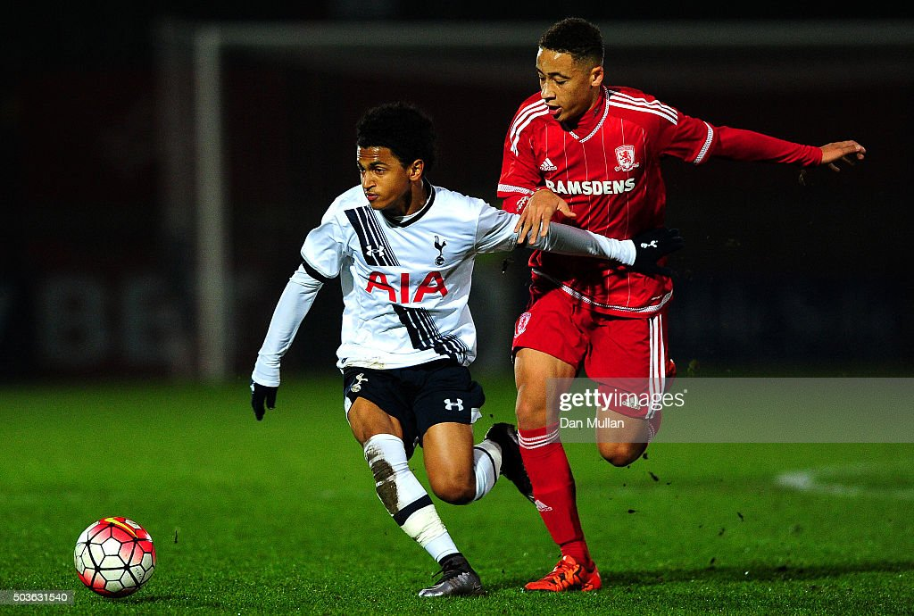 Tottenham Hotspur v Middlesbrough - The FA Youth Cup Fourth Round