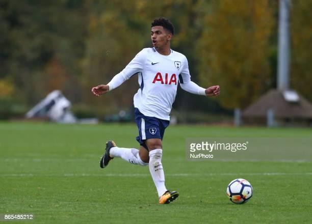Marcus Edwards of Tottenham Hotspur during Premier League 2 Div 1 match between Tottenham Hotspur Under 23s against Arsenal Under 23s at Tottenham...