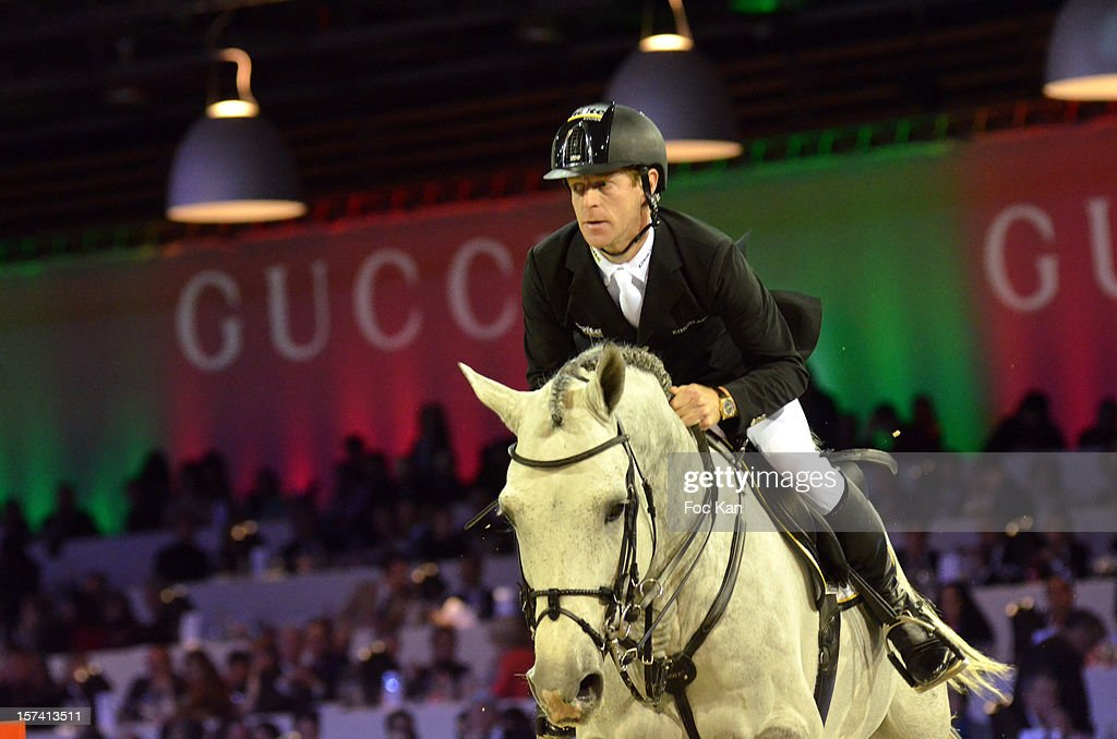 Marcus Ehning attends the Gucci Paris Masters 2012 Day 3 at Paris Nord Villepinte on December 2 2012 in Paris France