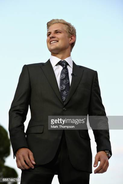 Marcus Ericsson of Sweden and Sauber F1 at the Amber Lounge fashion show during previews to the Monaco Formula One Grand Prix at Circuit de Monaco on...