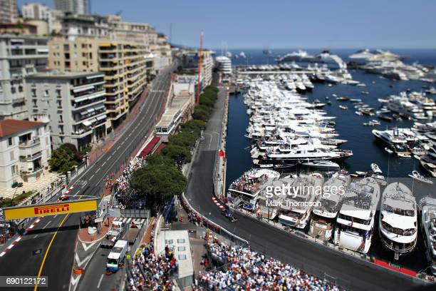 Marcus Ericsson of Sweden driving the Sauber F1 Team Sauber C36 Ferrari on track during the Monaco Formula One Grand Prix at Circuit de Monaco on May...