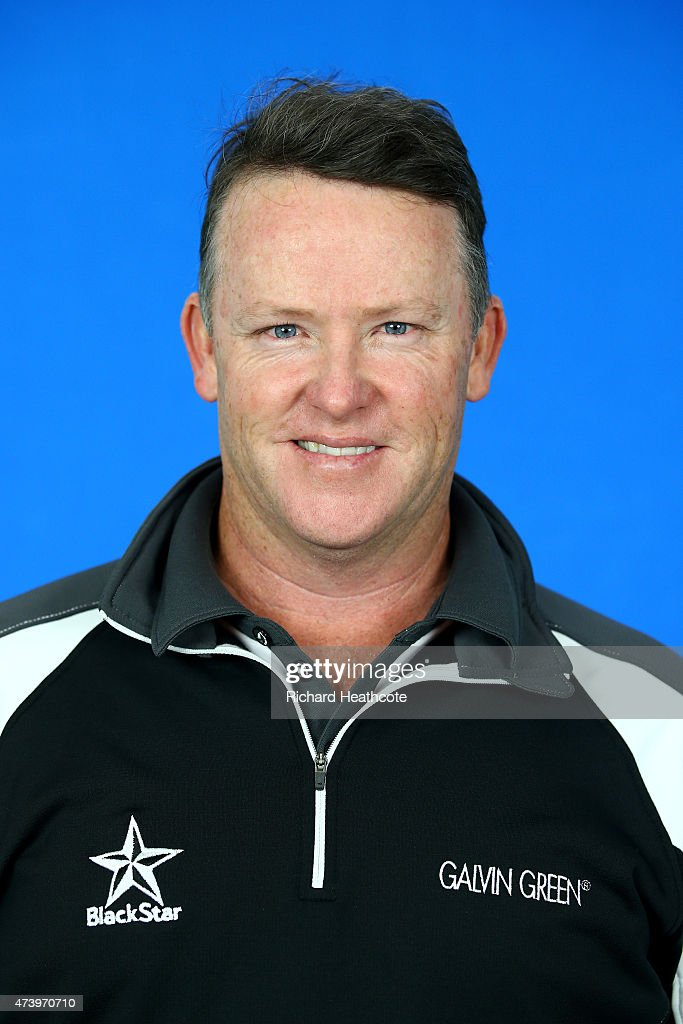 Marcus Fraser of Australia poses for a portrait during a practice day for the BMW PGA Championships at Wentworth on May 19, 2015 in Virginia Water, England.