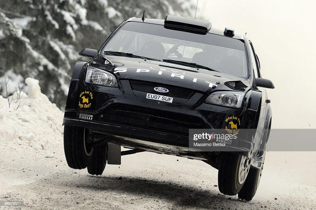 FIA World Rally Championship Sweden - Shakedown