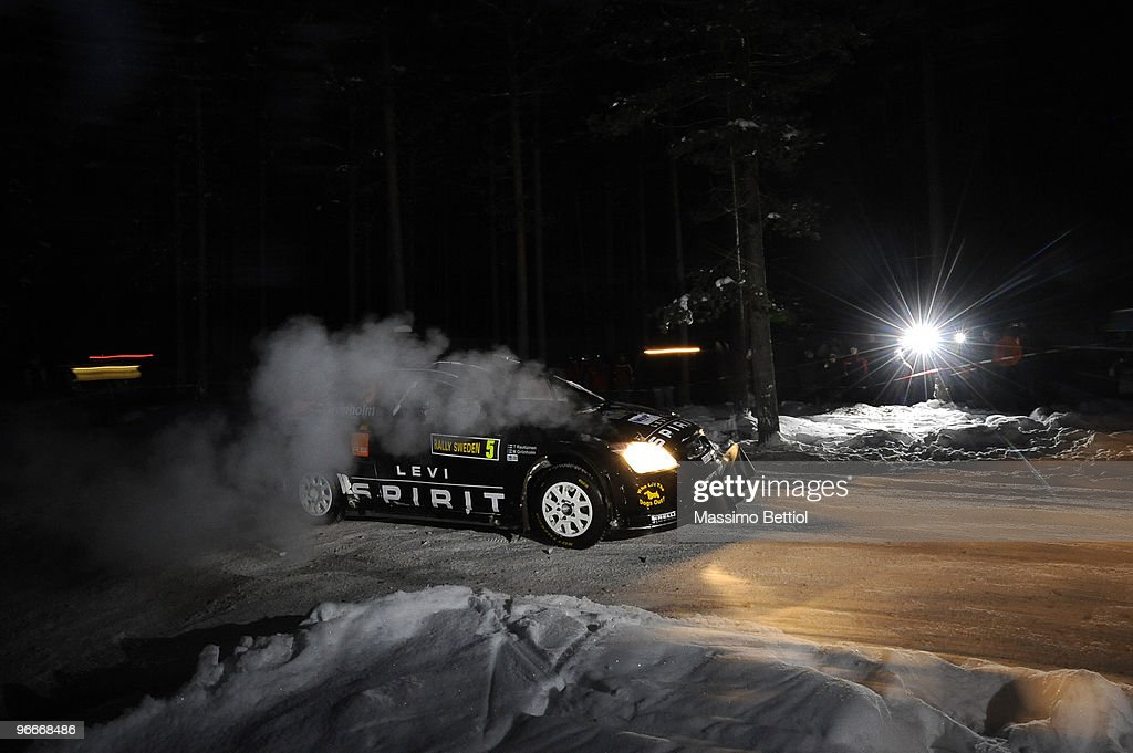 FIA World Rally Championship Sweden - Stage Two