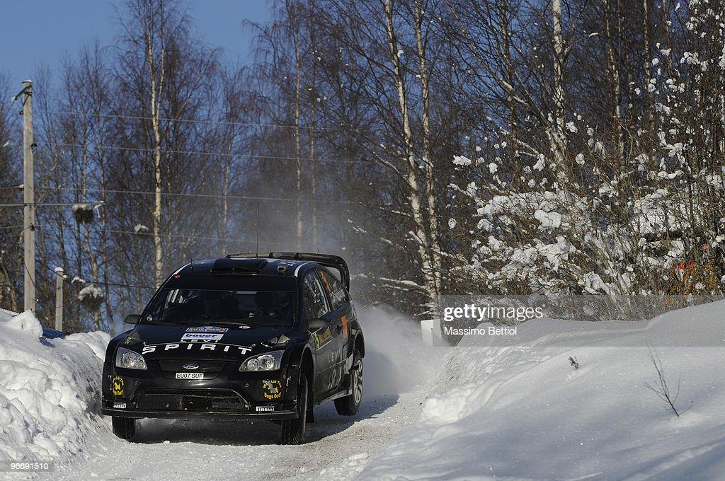 FIA World Rally Championship Sweden - Stage Three