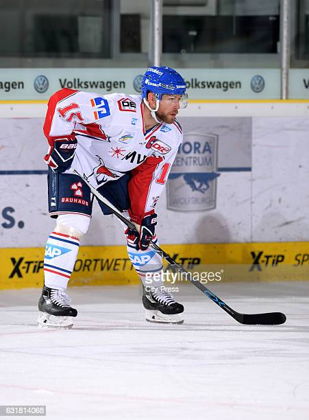 Marcus Kink of the Adler Mannheim during the action shot on September 25 2016 in Wolfsburg Germany