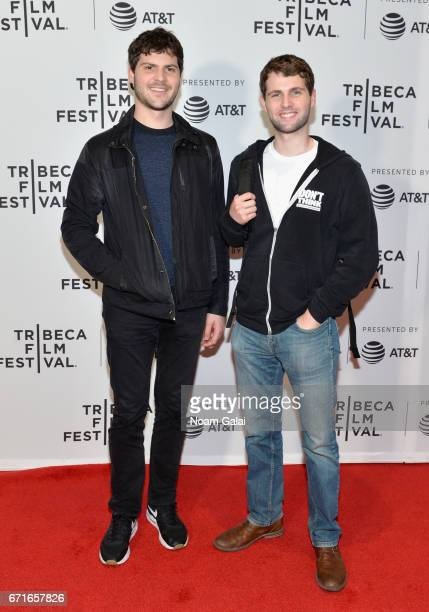 Marcus Moretti and Aiden Moretti attend 'The Last Animals' Premiere during 2017 Tribeca Film Festival at Cinepolis Chelsea on April 22 2017 in New...