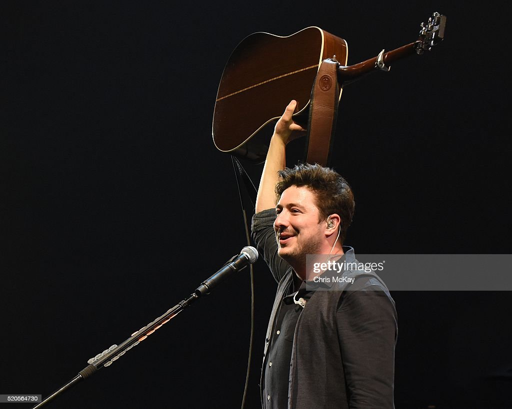 <a gi-track='captionPersonalityLinkClicked' href=/galleries/search?phrase=Marcus+Mumford&family=editorial&specificpeople=5385533 ng-click='$event.stopPropagation()'>Marcus Mumford</a> of Mumford And Sons performs at Infinite Energy Arena on April 11, 2016 in Duluth, Georgia.