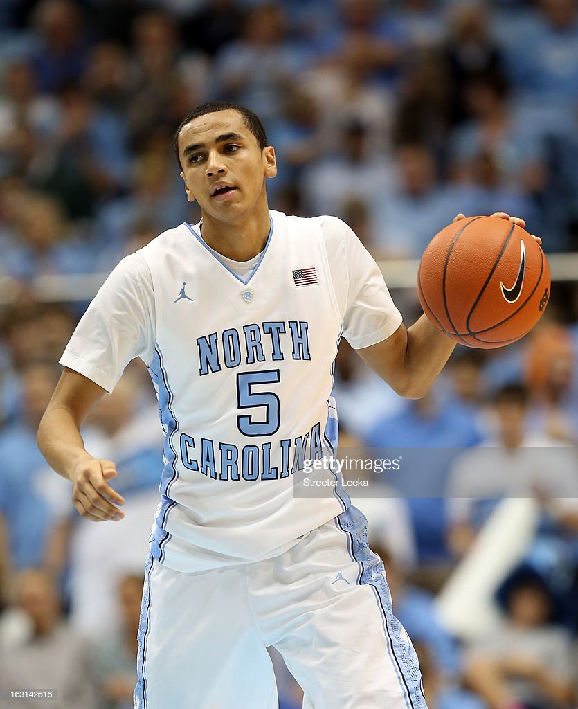 Marcus Paige #5 of the North Carolina Tar Heels during their game at Dean Smith Center on December 29, 2012 in Chapel Hill, North Carolina.