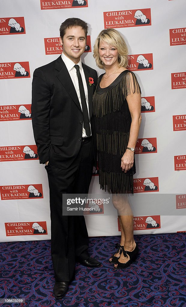 Marcus Patrick and Gillian Taylforth attend the Marion Rose Ball in aid of Children with Leukaemia at the Grosvenor House Hotel on Novemer 13, 2010 in London, England.