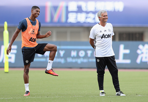 Manchester United Open Training and Press Conference : News Photo