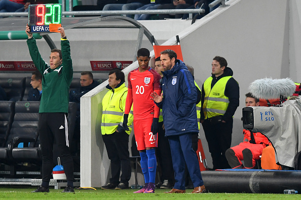 Slovenia v England - FIFA 2018 World Cup Qualifier : News Photo