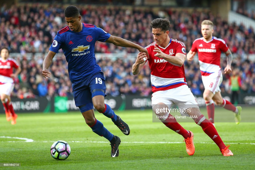 Middlesbrough v Manchester United - Premier League : News Photo