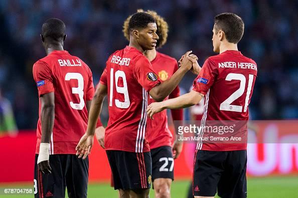 Celta Vigo v Manchester United - Uefa Europa League - Semi Final First leg : News Photo
