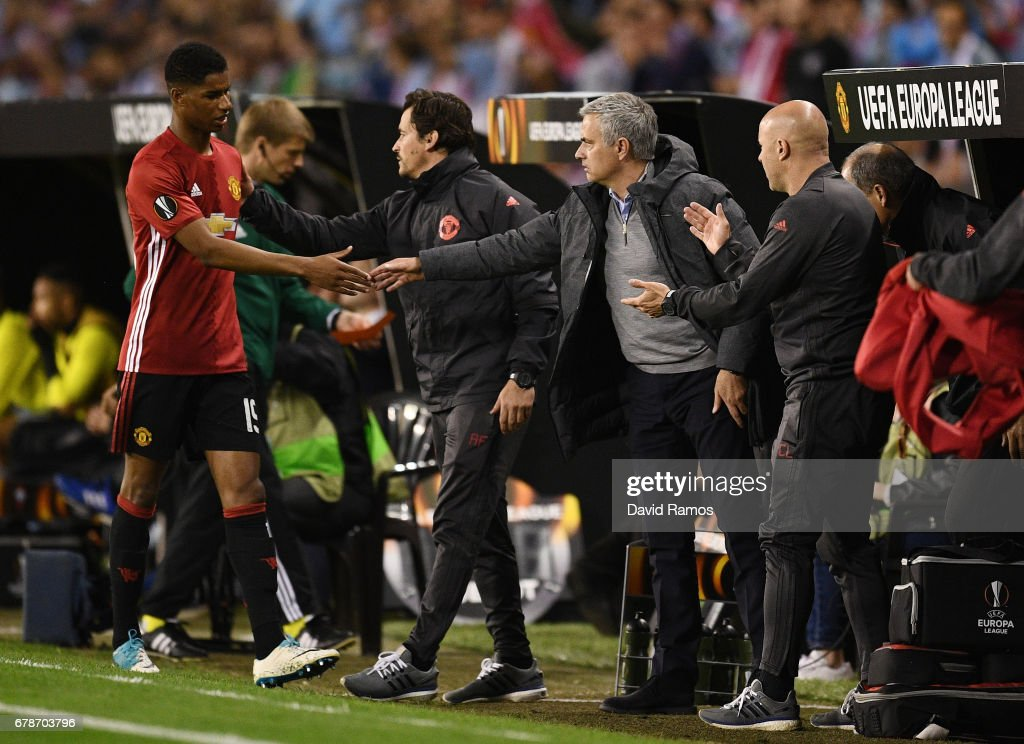 Celta Vigo v Manchester United - UEFA Europa League - Semi Final: First leg : News Photo