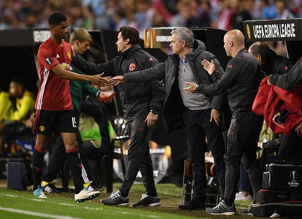 Celta Vigo v Manchester United - UEFA Europa League - Semi Final: First leg : News Photo