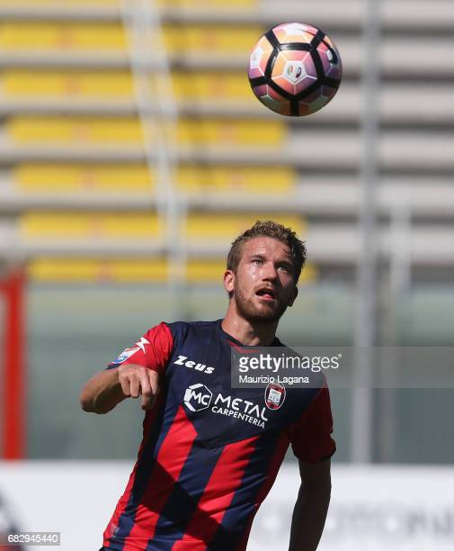 Marcus Rohden of Crotone during the Serie A match between FC Crotone and Udinese Calcio at Stadio Comunale Ezio Scida on May 14 2017 in Crotone Italy