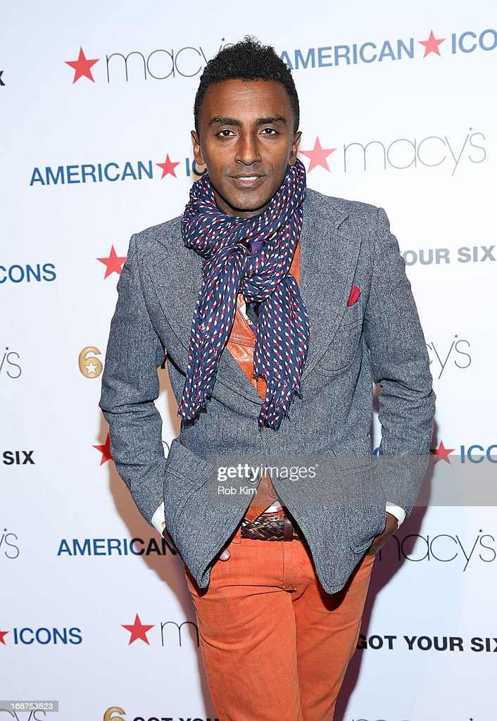 <a gi-track='captionPersonalityLinkClicked' href=/galleries/search?phrase=Marcus+Samuelsson&family=editorial&specificpeople=2143367 ng-click='$event.stopPropagation()'>Marcus Samuelsson</a> attends Macy's launches 'American Icons' at Gotham Hall on May 14, 2013 in New York City.