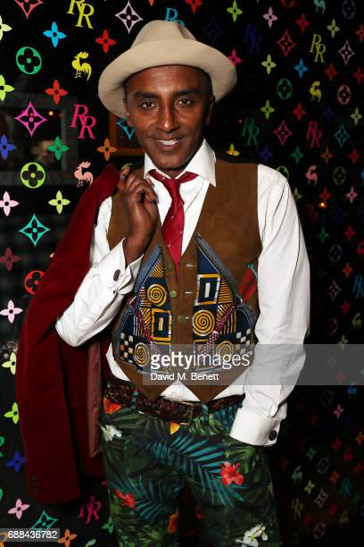 Marcus Samuelsson attends the launch of new restaurant 'Red Rooster' at The Curtain on May 25 2017 in London England