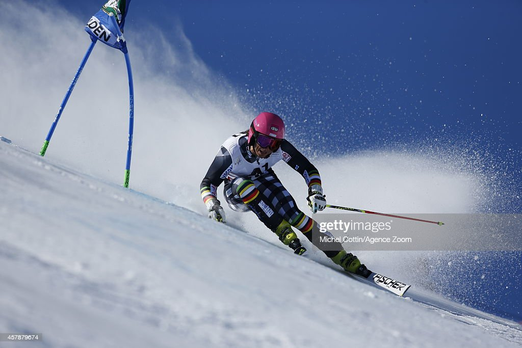 <a gi-track='captionPersonalityLinkClicked' href=/galleries/search?phrase=Marcus+Sandell&family=editorial&specificpeople=4153799 ng-click='$event.stopPropagation()'>Marcus Sandell</a> of Finland competes during the Audi FIS Alpine Ski World Cup MenÕs Giant Slalom on October 26, 2014 in Soelden, Austria.