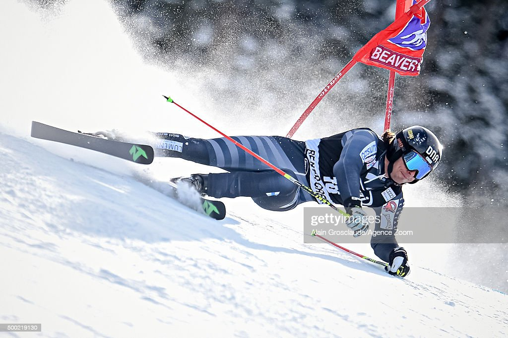 <a gi-track='captionPersonalityLinkClicked' href=/galleries/search?phrase=Marcus+Sandell&family=editorial&specificpeople=4153799 ng-click='$event.stopPropagation()'>Marcus Sandell</a> of Finland competes during the Audi FIS Alpine Ski World Cup Men's Giant Slalom on December 06, 2015 in Beaver Creek, Colorado.