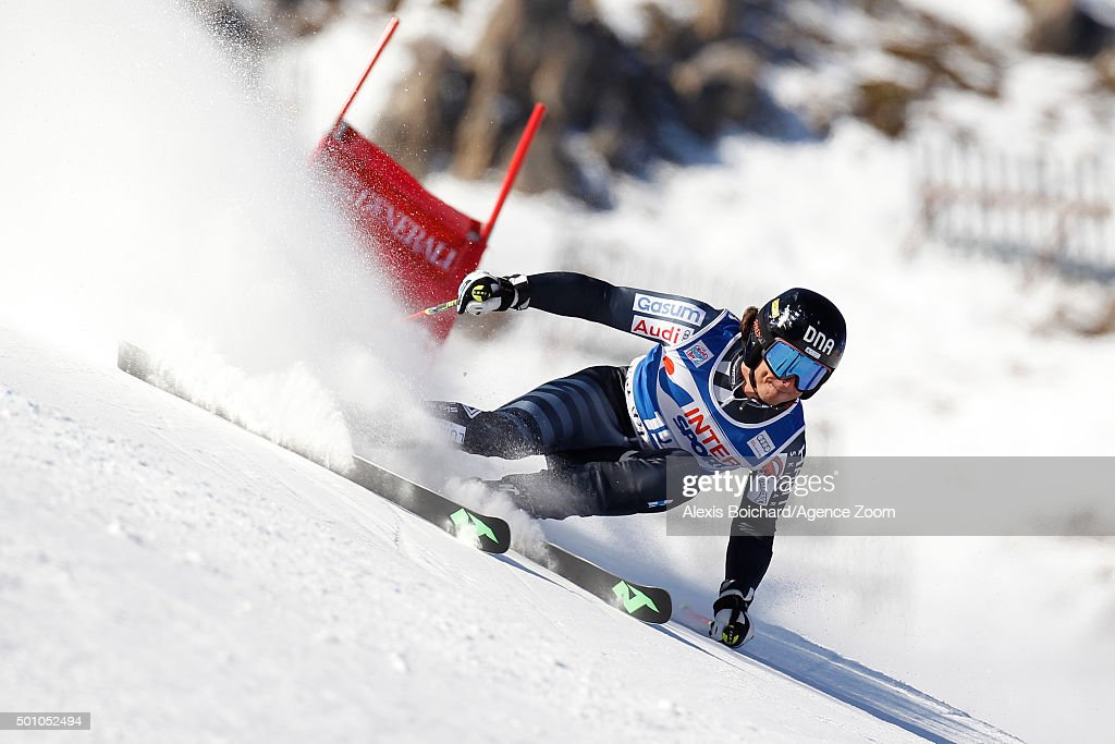 <a gi-track='captionPersonalityLinkClicked' href=/galleries/search?phrase=Marcus+Sandell&family=editorial&specificpeople=4153799 ng-click='$event.stopPropagation()'>Marcus Sandell</a> of Finland competes during the Audi FIS Alpine Ski World Cup Men's Giant Slalom on December 12, 2015in Val D'isere, France.